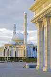 Central Asia  Kazakhstan  Astana  Hazrat Sultan Mosque  the Largest in Central Asia
