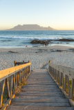 Bloubergstrand Beach with Table Mountain in Background Cape Town  Western Cape  South Africa