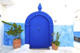 Traditional Moroccan Decorative Door, Rabat, Morocco, North Africa Reproduction d'art