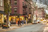 Book Shop in Greenwich Village  Manhattan  New York City  New York  USA