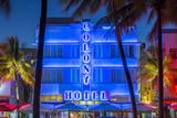 Art Deco District  Ocean Drive  South Beach  Miami Beach  Miami  Florida  USA