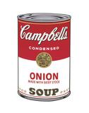 Campbell's Soup I: Onion, 1968 Reproduction d'art par Andy Warhol