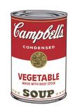 Campbell's Soup I: Vegetable, 1968 Reproduction d'art par Andy Warhol