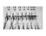 Eight Elvis, 1963 Reproduction d'art par Andy Warhol