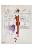 Untitled (Female Fashion Figure)  c 1959