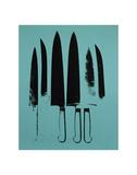 Knives  c 1981-82 (Aqua)