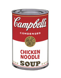 Campbell's Soup I: Chicken Noodle  1968