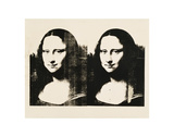 Double Mona Lisa, 1963 Reproduction d'art par Andy Warhol