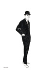 Untitled (Male Fashion Figure)  c 1960