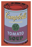 Colored Campbell's Soup Can  1965 (blue & purple)