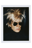 Self-Portrait in Fright Wig  1986