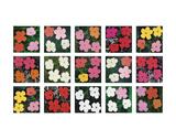 Flowers (various), 1964 - 1970 Reproduction d'art par Andy Warhol