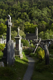 St Kevin's Church (Sometimes Called St Kevin's Kitchen)  Glendalough  County Wicklow  Ireland