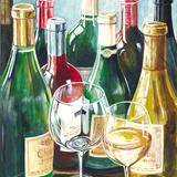 Wine Reflections Sq I