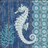 Indigo Sea VI Reproduction d'art par Paul Brent