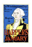 In Washington's Day by Woodrow Wilson Begins in Harper's January