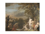 Pharoahs Daughter Discovers Moses in the Rush Basket