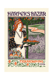 Harper's Bazar Thanksgiving 1894