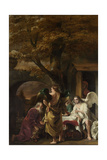 Abraham Entertaining the Three Angels