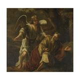 Prophet Elijah Visited by an Angel