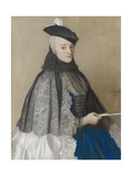 Portret Van Mme Boere  Jean-Etienne Liotard