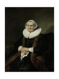 Portrait of an Old Lady  Possibly Elisabeth Bas