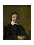 Portrait of a Man  Possibly a Preacher  Frans Hals