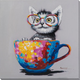 Teaparty Kitten