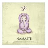Elephant Yoga  Namaste Pose