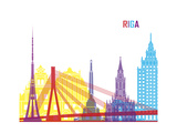 Riga Skyline Pop