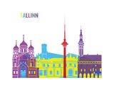 Tallinn Skyline Pop