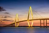 Charleston  South Carolina  USA at Arthur Ravenel Jr Bridge