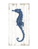 Seahorse in Blue II