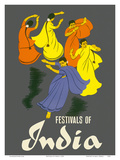 Festivals of India - Classical Indian Dancers