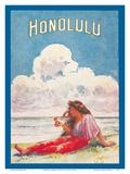 Honolulu  Hawaii - Moana and Royal Hawaiian Hotels Booklet