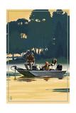Fishermen in Boat