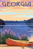 Georgia - Canoe and Lake