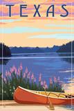 Texas - Canoe and Lake