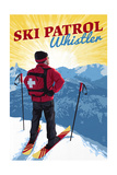 Whistler  Canada - Vintage Ski Patrol
