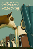 Cadillac Ranch  Texas - Route 66