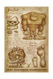 Port Townsend  Washington - Bigfoot da Vinci