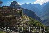 Machu Picchu  Peru - Inca Ruins of Machu Picchu