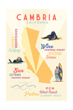 Cambria  California - Typography and Icons