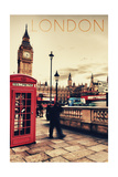 London  England - Telephone Booth and Big Ben