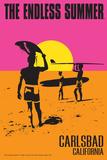 Carlsbad  California - The Endless Summer - Original Movie Poster