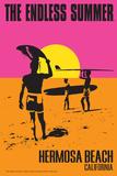 Hermosa Beach  California - the Endless Summer - Original Movie Poster