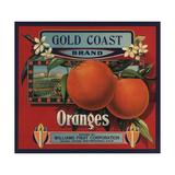 Gold Coast Brand - San Francisco  California - Citrus Crate Label