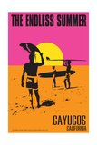 Cayucos  California - the Endless Summer - Original Movie Poster
