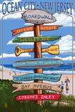 Ocean City  New Jersey - Destination Signpost