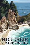 Big Sur  California - McWay Falls